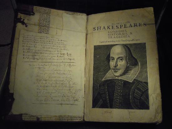Image result for shakespeare first folio bodleian