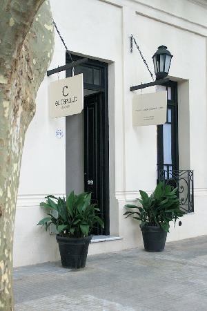 Posada El Capullo: Entrance