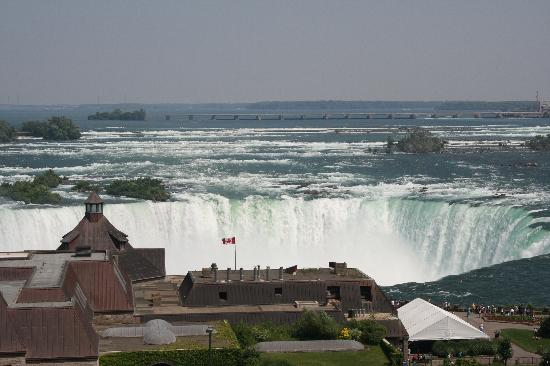 Niagara Falls Marriott Fallsview Hotel & Spa : View from my room