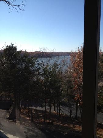 Tan-Tar-A Resort, Golf Club, Marina & Indoor Waterpark: November view from balcony