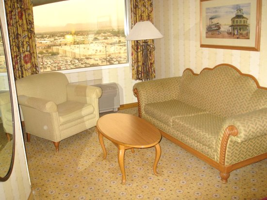 The Orleans Hotel & Casino: Seating Area