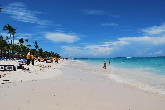 Grand Bahia Principe Bavaro: Belle plage
