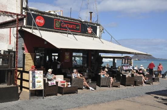 Cantante Cafe: Bar with a view