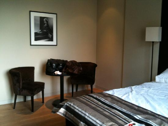 Hotel Patou: Extra space for Deluxe rooms
