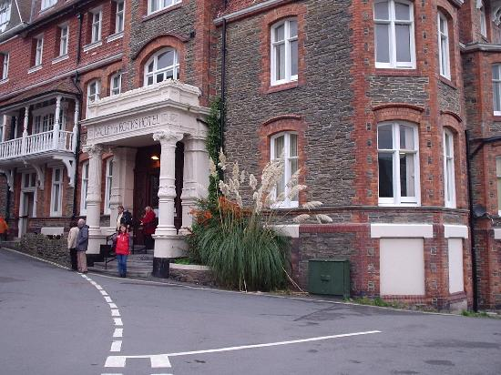 Lynton, UK: Front of Hotel