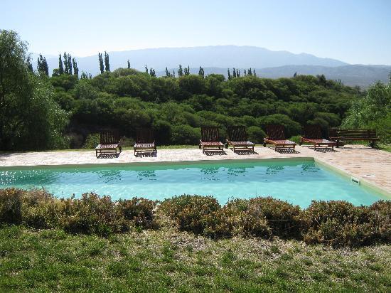 La Merced del Alto: A view from the back of the hotel.
