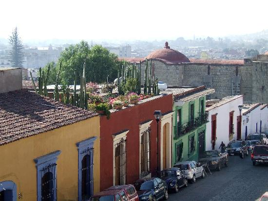 Hotel Azucenas: View from Our Rooftop Terrace: M. Bresson