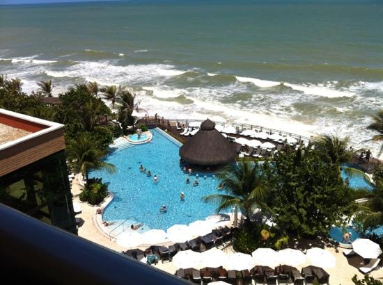 SERHS Natal Grand Hotel: view from our room 625