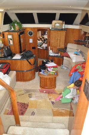 Constitution Marina's Bed & Breakfast Afloat: Enough room to spread out