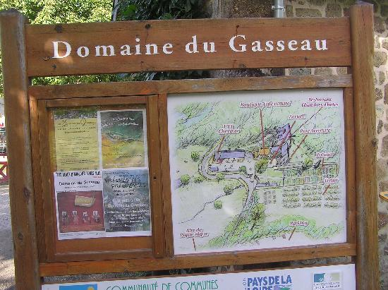 Le Gasseau Restaurant & Hôtel de Charme : Map of area