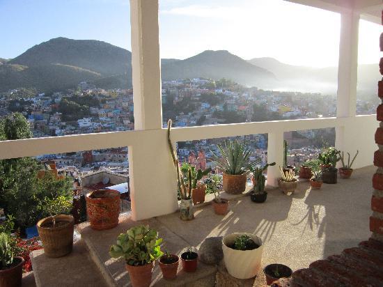 Casa Zuniga B&B: View from Casa Zuniga Trinidad room balcony