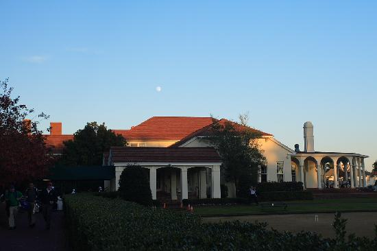 The Carolina Hotel - Pinehurst Resort: Full moon - after a great day on #5