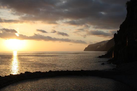 Restaurante Sol Poente : Sonnenuntergang beim Essen