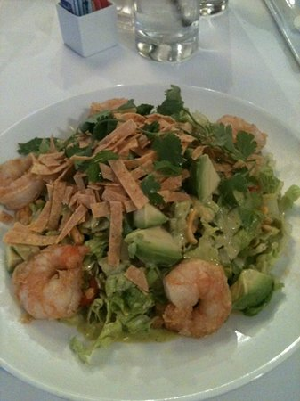 Cafe Ponte : cilantro shrimp salad