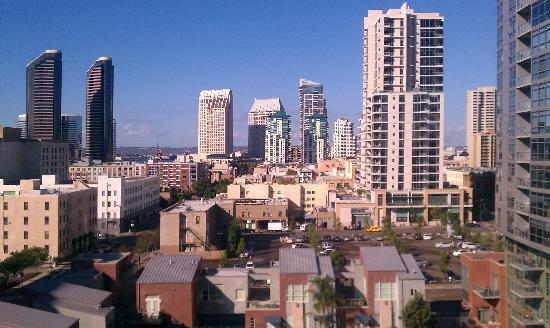 Hotel Indigo San Diego Gaslamp Quarter: Nice view from room 824