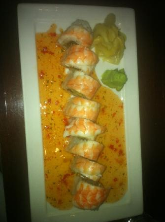 Koi : Spicy Shrimp Roll