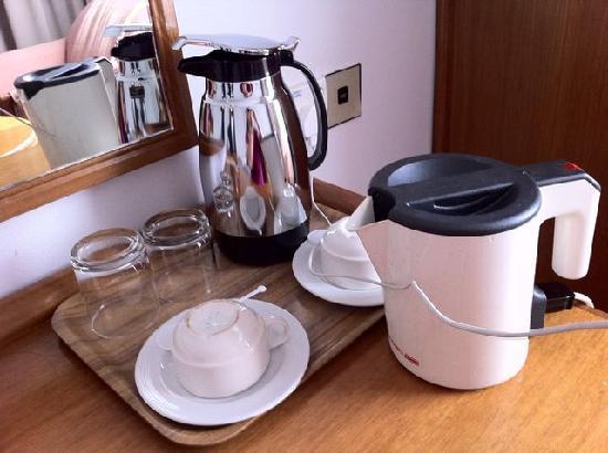 Kingwood Hotel: No coffee or tea