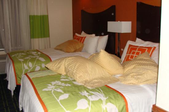 Fairfield Inn & Suites Texarkana : Double Beds