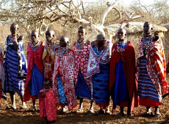 Gamewatchers Adventure Camp, Selenkay: Visit to Masai Village