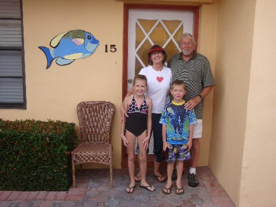 Grenier's On The Beach: Grandma & Grandpa and the two oldest Florida grandkids