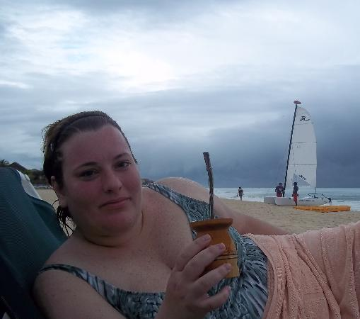 Hotel Riu Playacar: en la playa