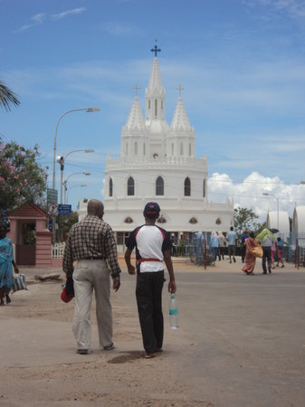 Velankanni, Indien: Church