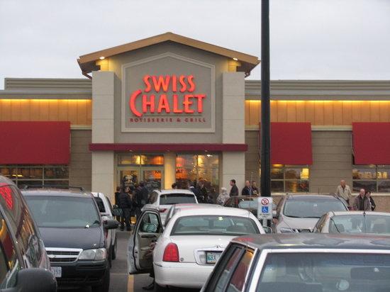Swiss Chalet Rotisserie Grill Winnipeg Restaurant