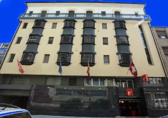 ديزاين هوتل إف 6: Design Hotel f6 facade