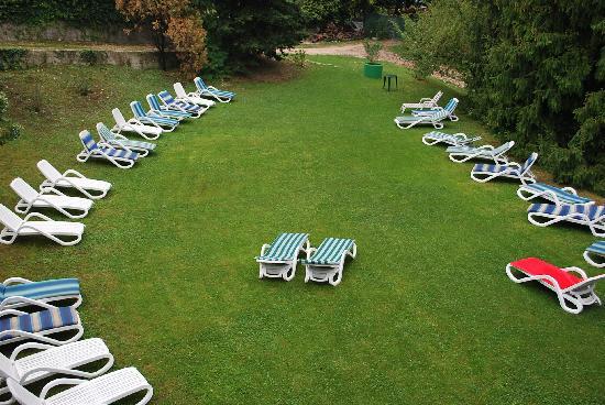 Park Hotel Jolanda: Parkanlage