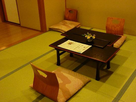 Hokkaikan Ohanabo: outside our room