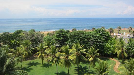 Taj Samudra Colombo: View from the room balcony