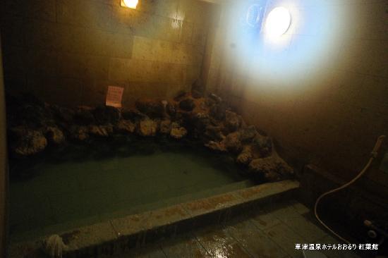 ホテル おおるり, 岩風呂