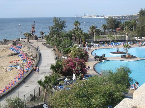 Hotel Grand Teguise Playa: Sicht vom Balkon