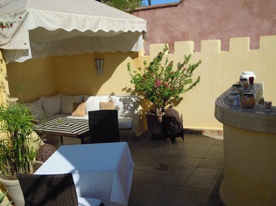 Riad Cocoon: Terrace