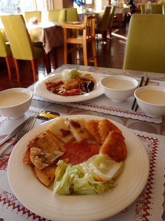 Misty Villa Cingjing: Buffet Breakfast part 3