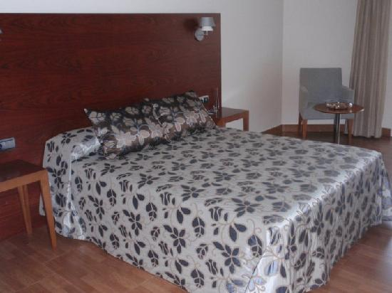 Hotel El Trebol : The bed was so inviting and pleasant that being there with a couple I am not sure I would ever l