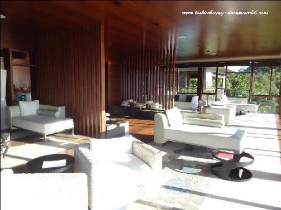 Four Seasons Resort Seychelles: Spa at hill top
