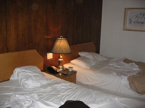 Fountain Motel: chambre spacieuse