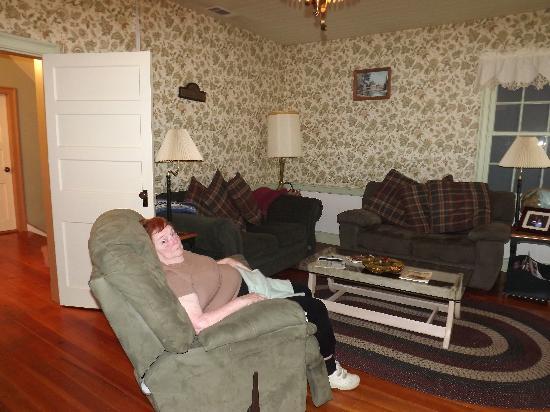The Buckhorn Inn: The comfy Parlor!