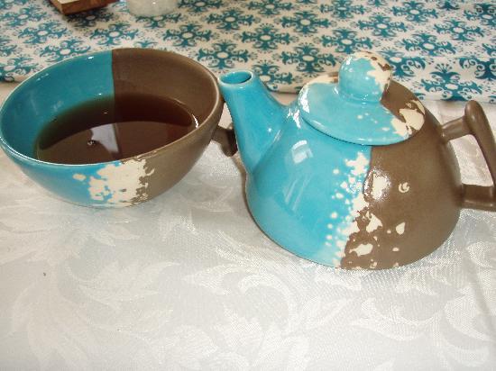 Aroma Spa Retreat: Their tea cup and mug