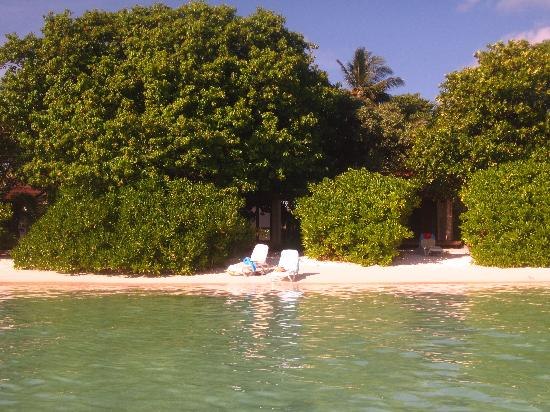 The view from our stunning water villa picture of kuramathi island