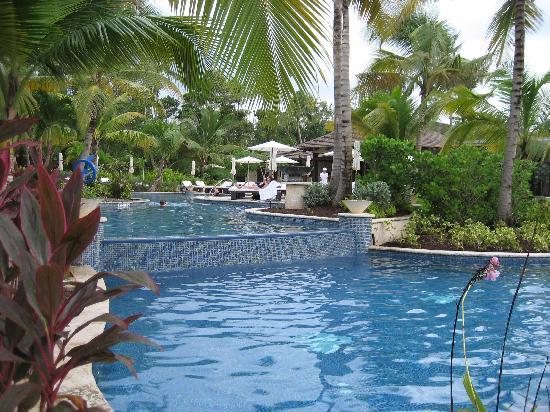 The St. Regis Bahia Beach Resort: The fantastic St. Regis pool