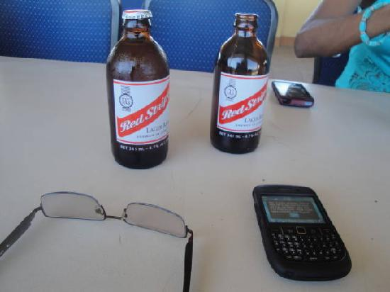 Gloria's Rendezvous: the Red Stripe Beers