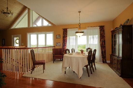 Red Hills B & B: Winter Dining Room
