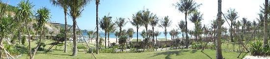 Mia Resort Nha Trang: The view from the villas.