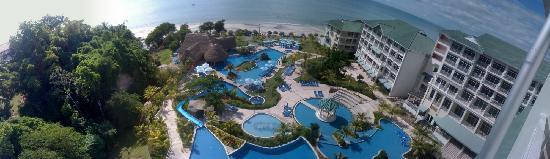 Sheraton Bijao Beach Resort : Panorámica desde el Hotel