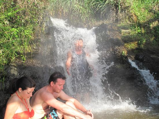 Spa Thermal Park and Riverbank Recreational and Scenic Reserve: Hot water falls