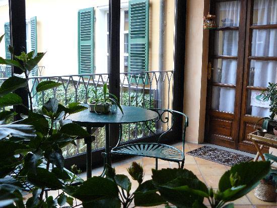 la terrazza coperta - Picture of Al Concerto, San Benigno Canavese ...