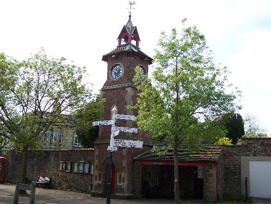 The Old Cider House: Nether Stowey Clock Tower
