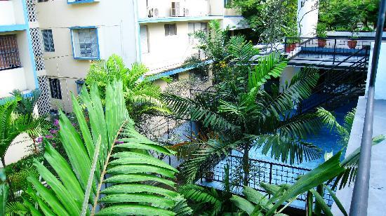Hostal Entre 2 Aguas: Der Garten